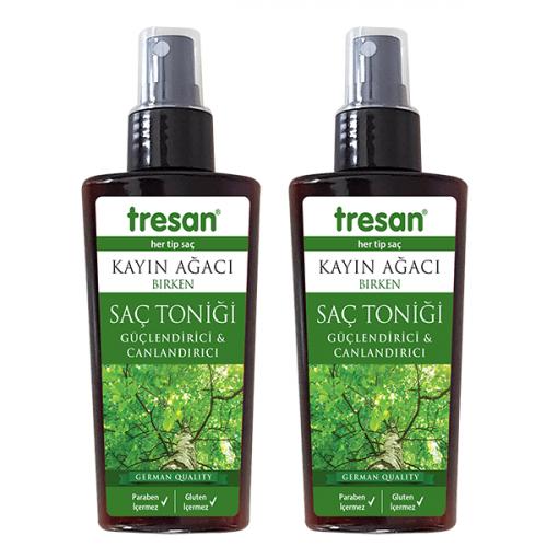 Tresan Kayın Ağacı Güçlendirici ve Canlandırıcı Saç Toniği 125 ml 2 li