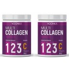Voonka Multi Collagen Powder + Vitamin C 300 gr x 2 Adet