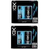 Xo Aqua Cool Men Edt 100 ml + Deodorant 125 ml x 2 Adet