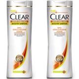 Clear Women Şampuan Saç Dökülmesine Karşı 550 ml x 2 Adet