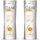 Clear Women Şampuan Yağlı Saç Derisi İçin 550 ml x 2 Adet