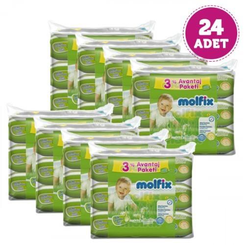 Molfix Islak Havlu Bebe Losyonlu 60 lı x 24 Adet
