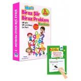 3. Sınıf Biraz Şiir Biraz Problem Kartları - Yaz Sil Kalemli - Mustafa Işık
