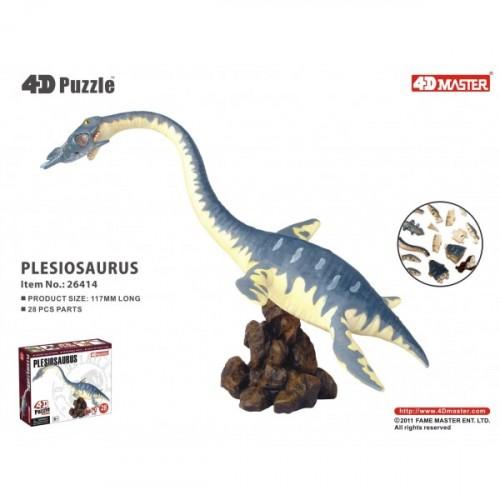 4D Master 4D Puzzle Plesiosaurus