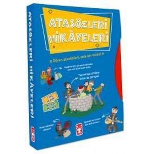 Atasözleri Hikayeleri - Set (5 Kitap) - Didem Demirel, Mehmet Salih Sırmaçekiç