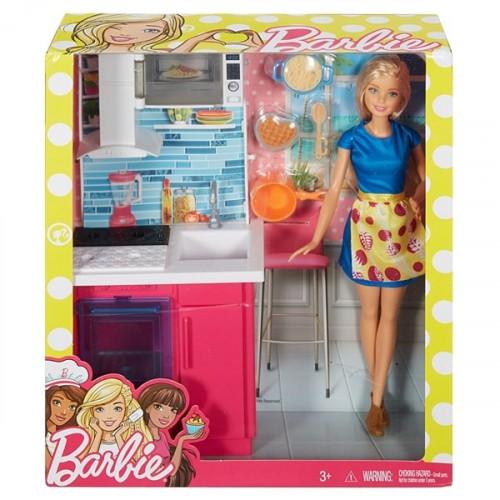 Barbie Bebek ve Oda Setleri Serisi DVX51