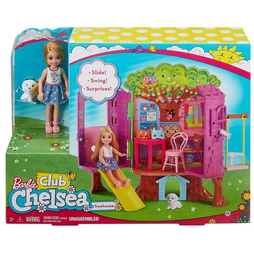 Barbie Chelsea nin Ağaç Evi FPF83