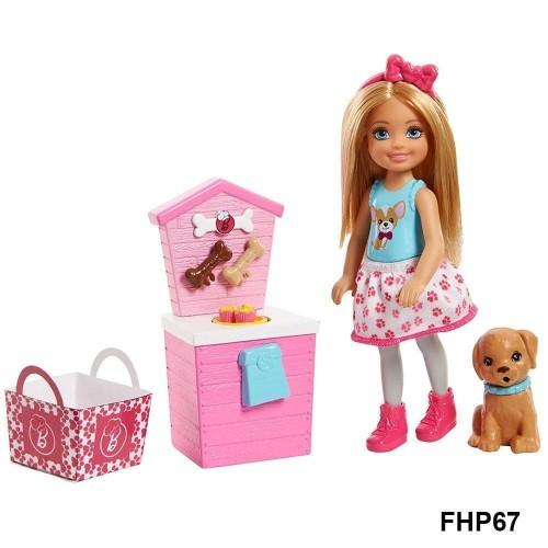 Barbie Chelsea Mutfakta Oyun Setleri FHP66
