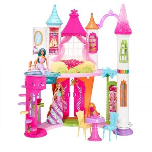 Barbie Dreamtopia Şeker Krallığı Şatosu Dyx32