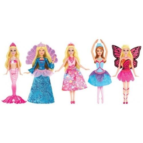 Barbie Güzel Prensesler V7050