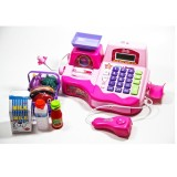 Barbie'nin Mikrofonlu Market Kasası Oyun Seti 34438