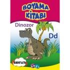 Boyama Kitabı - Dinozor Harfler - Kolektif