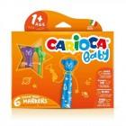 Carioca Jumbo Bebek Keçeli Boya Kalemi 6'lı 42815