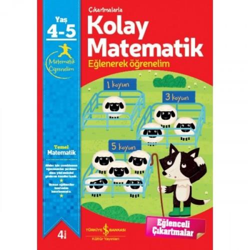 Çıkartmalarla Kolay Matematik 4-5 Yaş - Jo Chambers