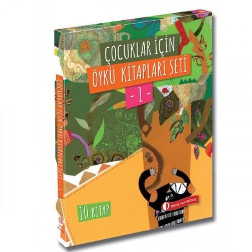 Çocuklar İçin Öykü Kitapları Seti 1 (10 Kitap) - Kolektif