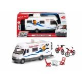 Dickie Toys Holiday Camper Oyuncak Karavan 203777000