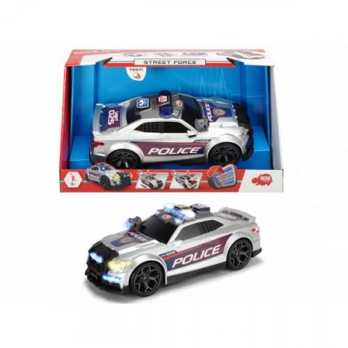 Dickie Toys Street Force Polis Arabası 33cm 203308376