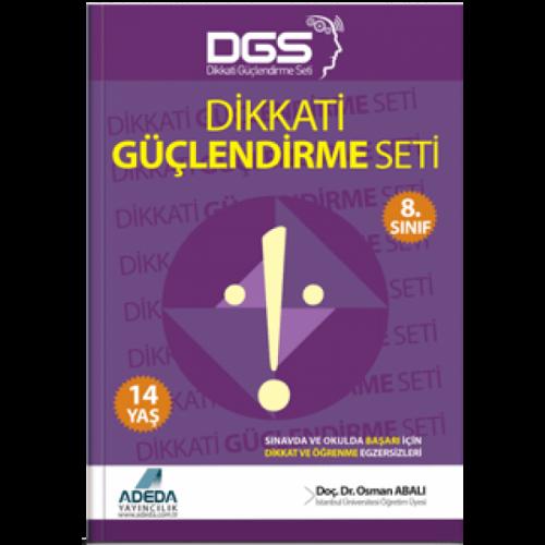 Dikkati Güçlendirme Seti 8. Sınıf - 14 Yaş - Osman Abalı