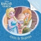 Disney Karlar Ülkesi-Anna İş Başında Çıkartmalı Eğlence - Kolektif