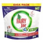 Fairy Jar Hepsi Bir Arada Bulaşık Makinesi Tableti 115 li (P&G Professional)