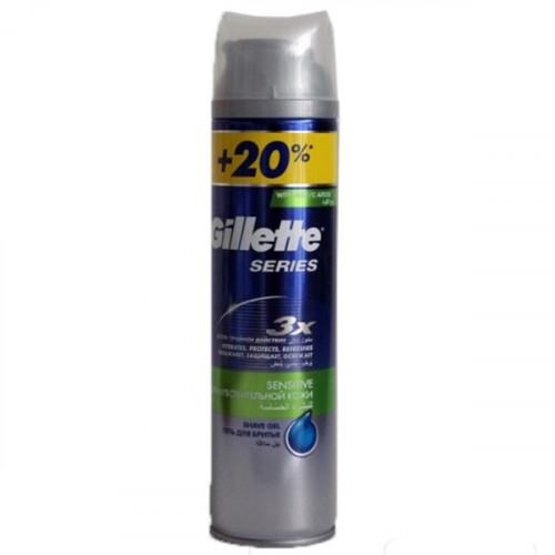 Gillette Tıraş Jeli Series Hassas 240 ml
