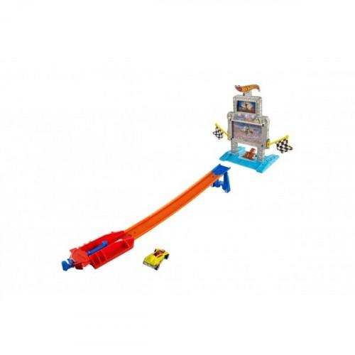 Hot Wheels Fırlatıcılı Yarış Seti Djf02