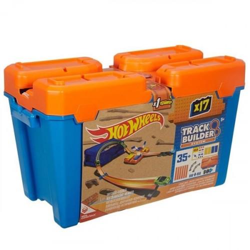 Hot Wheels Track Builder Bloklu Başlangıç Paketi DWW95