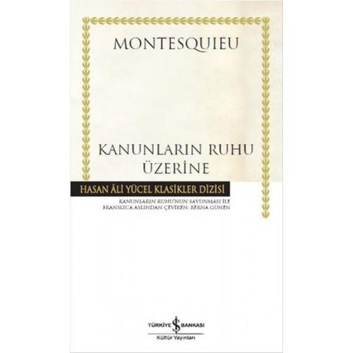 Kanunların Ruhu Üzerine - Montesquieu