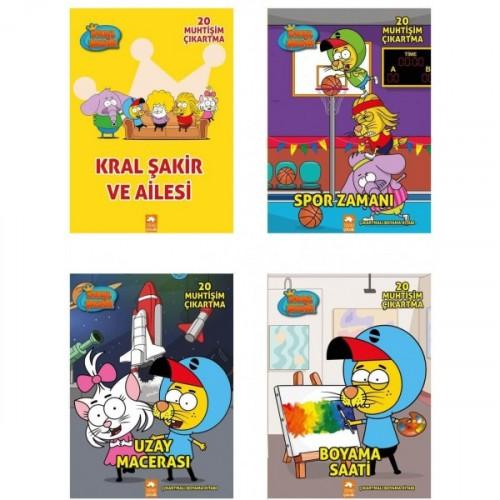 Kral Şakir Boyama Set (4 Kitap) - Kolektif