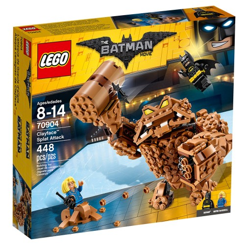 Lego Batman Clayface Splat Attack 70904