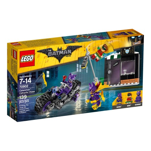 Lego Batman Movie Catwoman Catcycle 70902