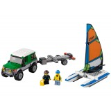 Lego City 4x4 Catamaran 60149