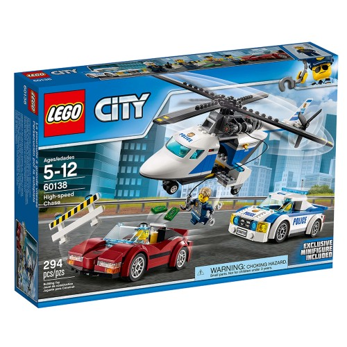 Lego City High Speed Chase 60138
