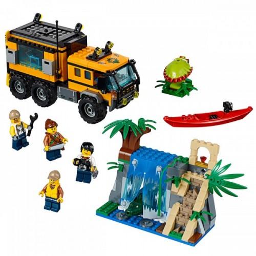 Lego City Jungle Mobile Lab 60160