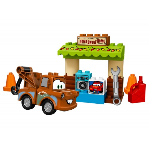 Lego Duplo Cars Mater's Shed 10856