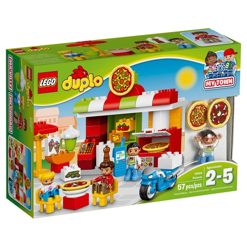 Lego Duplo Town Pizzeria Learning Toy 10834