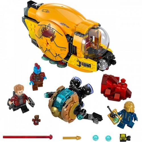 Lego Super Heroes Ayesha's Revenge 76080
