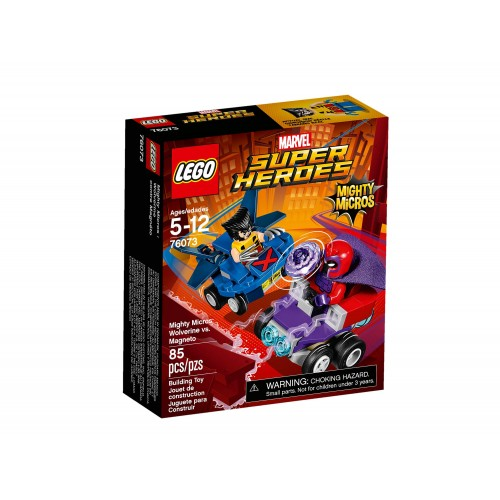 Lego Super Heroes Mighty Micros: Wolverine vs. Magneto 76073