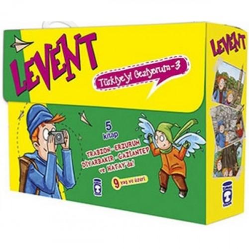 Levent Türkiye'yi Geziyorum Seti - 3 (5 Kitap Takım) - Mustafa Orakçı
