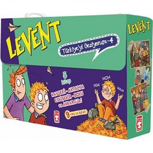 Levent Türkiye'yi Geziyorum Seti - 4 (5 Kitap Takım) - Mustafa Orakçı