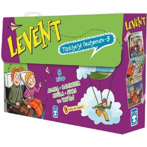 Levent Türkiye'yi Geziyorum Seti - 5 (5 Kitap Takım) - Mustafa Orakçı