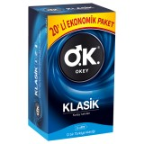 Okey Prezervatif Klasik 20 li