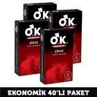 Okey Prezervatif Zirve 10 lu x 4 Adet
