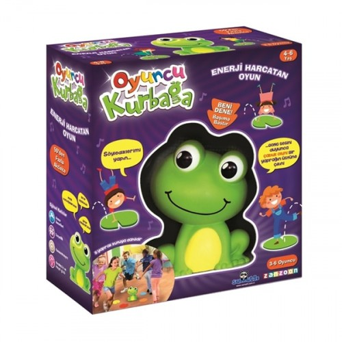 Samatlı Oyuncu Kurbağa Kutu Oyunu