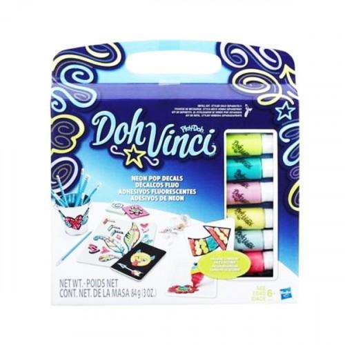 Play Doh Doh-Vinci Çıkartma Tasarım Kiti B8954