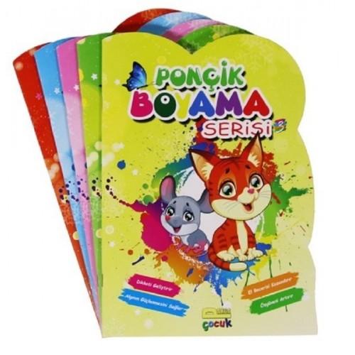 Ponçik Boyama Seti-5 Kitap Takım - Kolektif