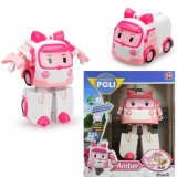 Robocar Poli Transformers Robot Figür Amber Işıklı 83095