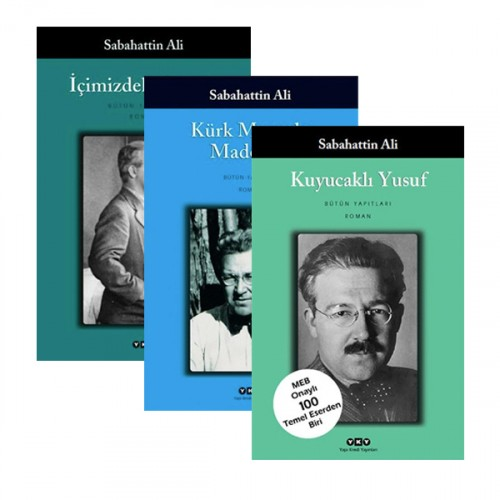 Sabahattin Ali 3'lü Kitap Seti - Sabahattin Ali