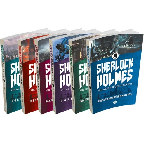 Sherlock Holmes Seti 6 Kitap (Kutusuz) - Sir Arthur Conan Doyle