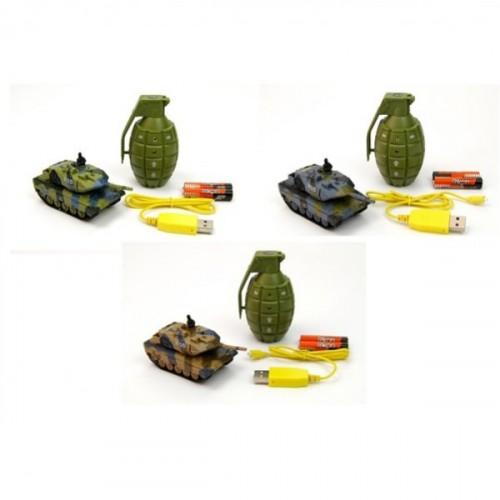 Vardem Oyuncak El Bombası Ve Kumandalı Tank 1:77 2232B